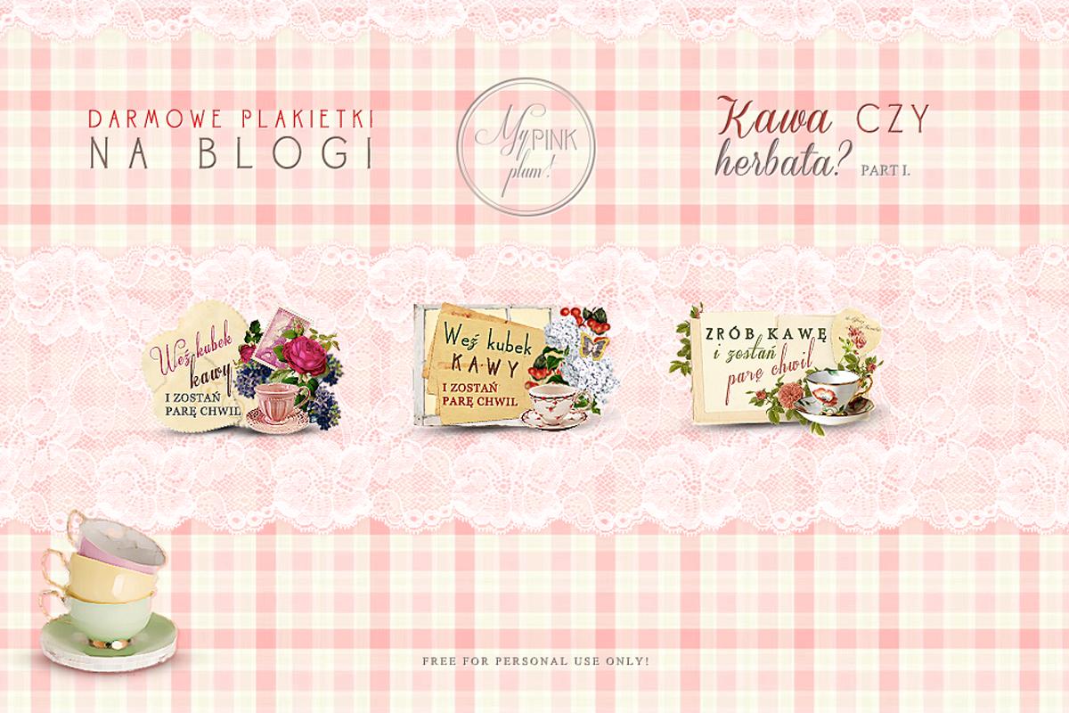 Etykietki na bloga — kawa czy herbata