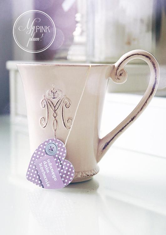 [DIY] Walentynkowe etykietki do herbaty