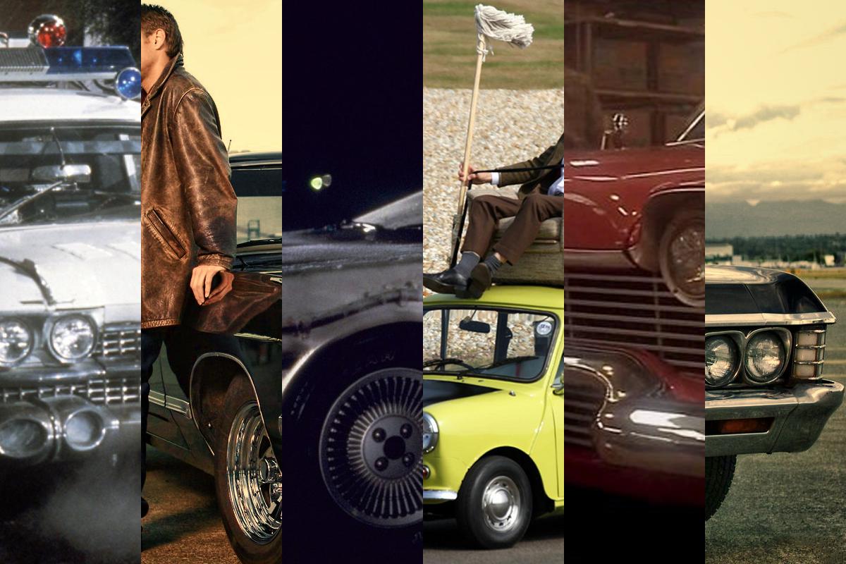 9 najfajniejszych aut z TV!