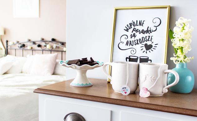 Słodkie etykiety na czekoladę i herbatę dla ukochanych + BONUS
