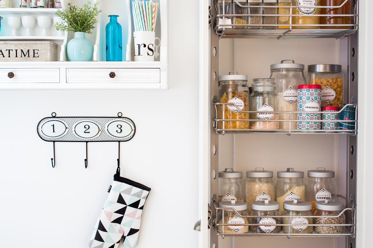 Jak zyskać więcej miejsca w kuchni? + BONUS!