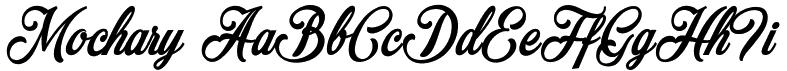 mochary-font