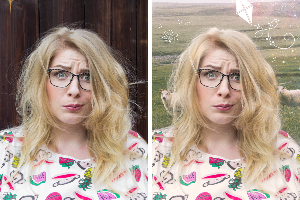 PHOTOSHOP – wycinanie włosów z tła