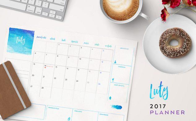 Plan miesiąca do druku — luty 2017