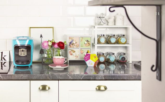 W kuchni potrzebne są kolory — kostka kawosza do druku