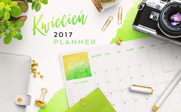 Plan miesiąca do druku — kwiecień 2017