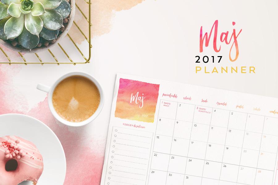 Plan miesiąca do druku — maj 2017