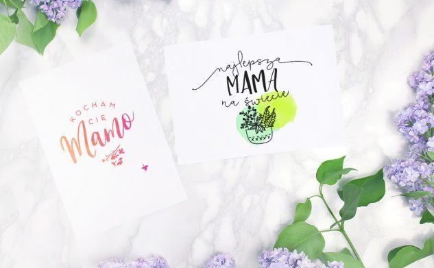 Pocztówki na Dzień Matki do druku