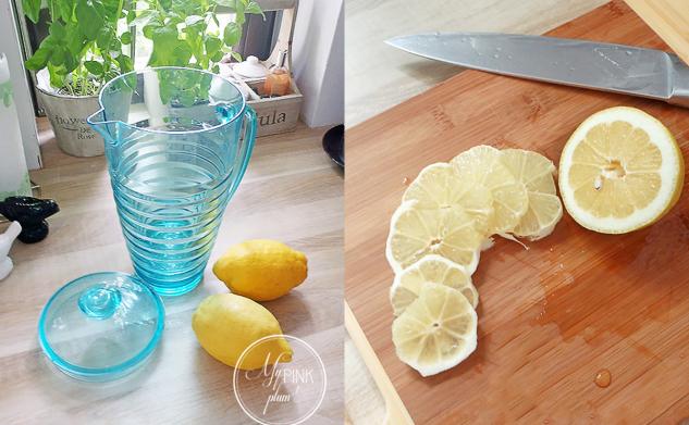 Cytrynowe orzeźwienie — lemoniada