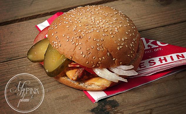 Cheeseburger z drobiem