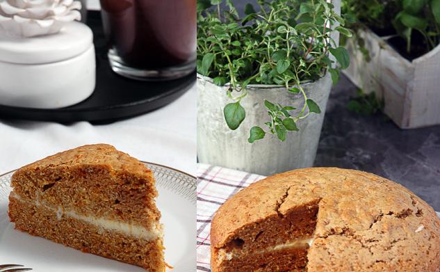 Ciasto marchewkowe z masą z białej czekolady i mascarpone