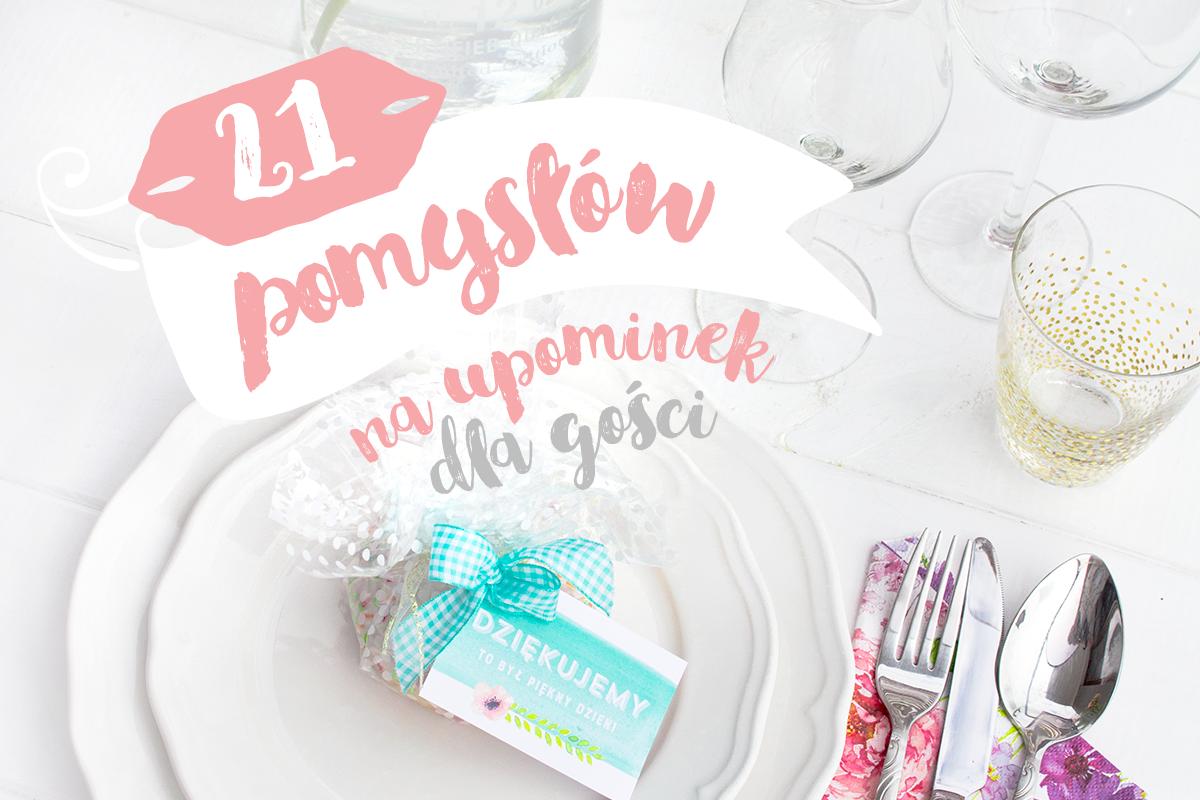 864225e604 21 pomysłów na upominek dla gości weselnych • My Pink Plum!