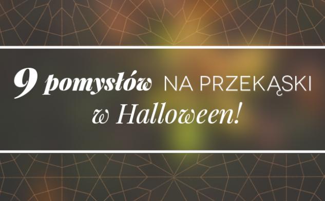 9 pomysłów na przekąski w Halloween!