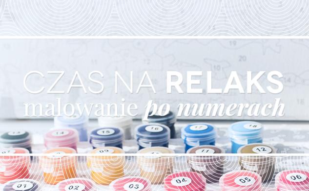 Czas na relaks – malowanie po numerach
