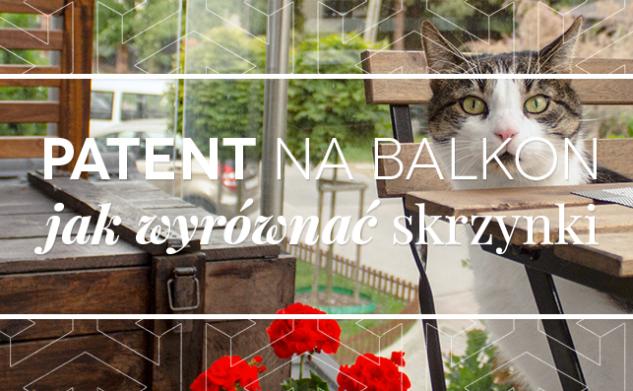 Jak wyprostować pochylone skrzynki balkonowe?