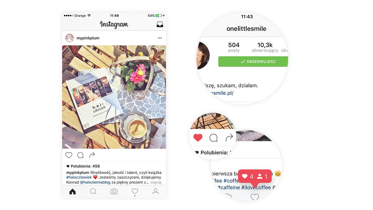Nowy wygląd Instagrama