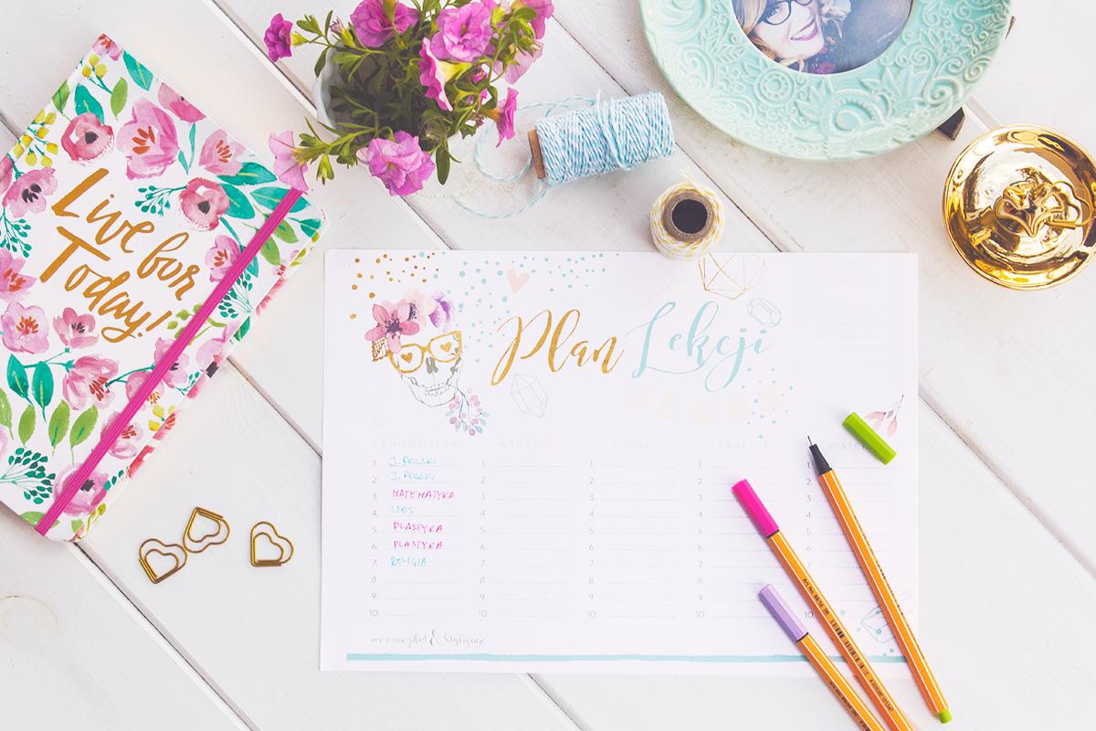 Plany lekcji — edycja 2016