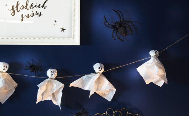 DIY szybka i łatwa dekoracja na Halloween