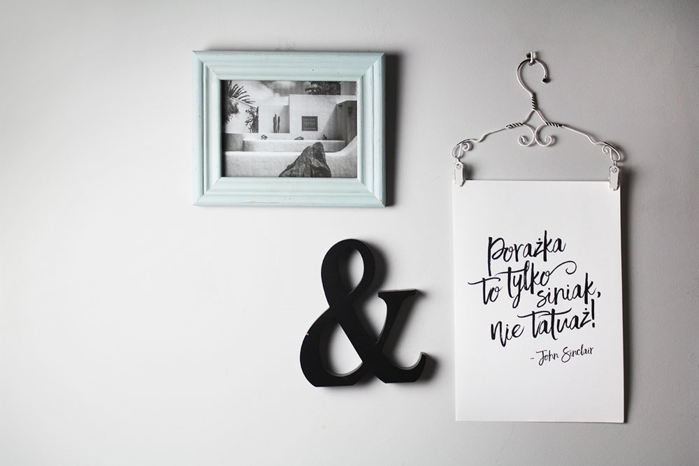 Typograficzne plakaty z najpopularniejszymi sentencjami