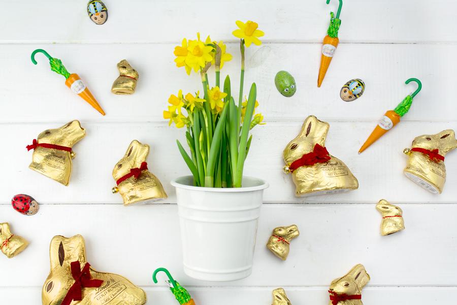 """Wielkanocna gra do wydruku — """"Szukanie Zajączków"""""""