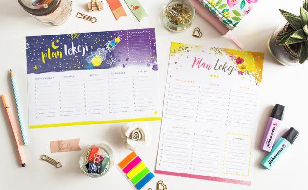 Plany lekcji do druku — edycja 2017