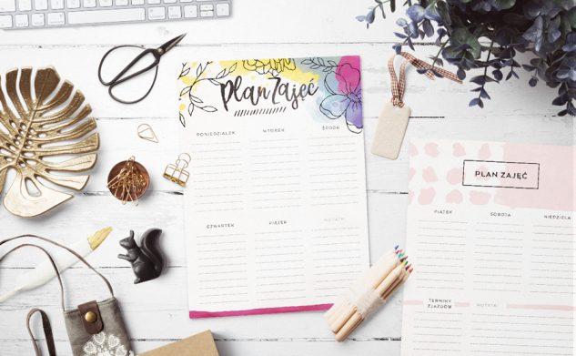 Plany zajęć do druku dla studentów — studia dzienne i zaoczne
