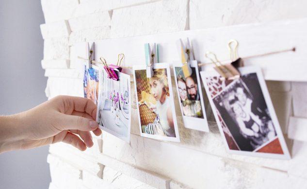 DIY deseczka na zdjęcia i pamiątki