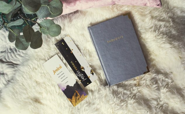 Jesienne zakładki do książek — edycja 2017