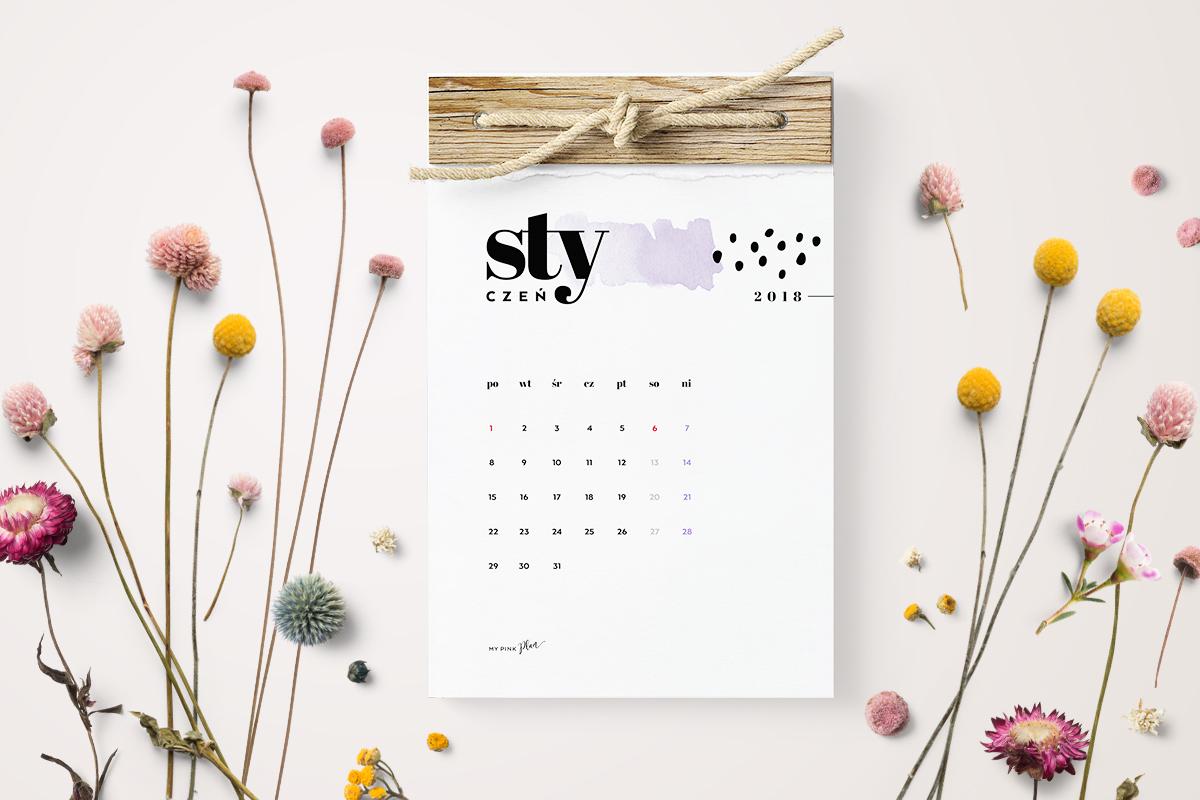Kalendarz 2018 Do Druku Darmowy Pdf Do Pobrania