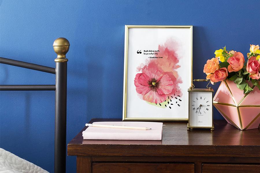 Wiosenne Plakaty Z Cytatami Do Druku 3 Darmowe Wzory