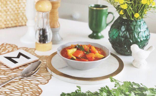 Przepisy: Dieta warzywno-owocowa — leczo