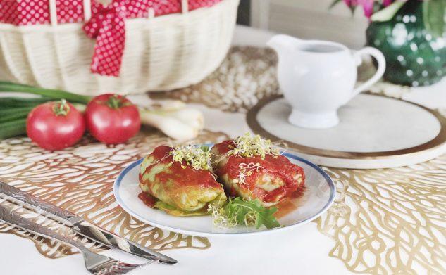 Przepisy: Dieta warzywno-owocowa — gołąbki