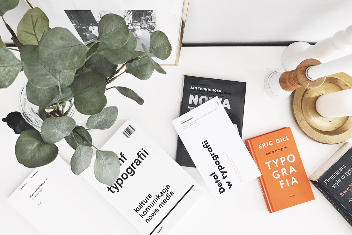 8 najlepszych książek o typografii