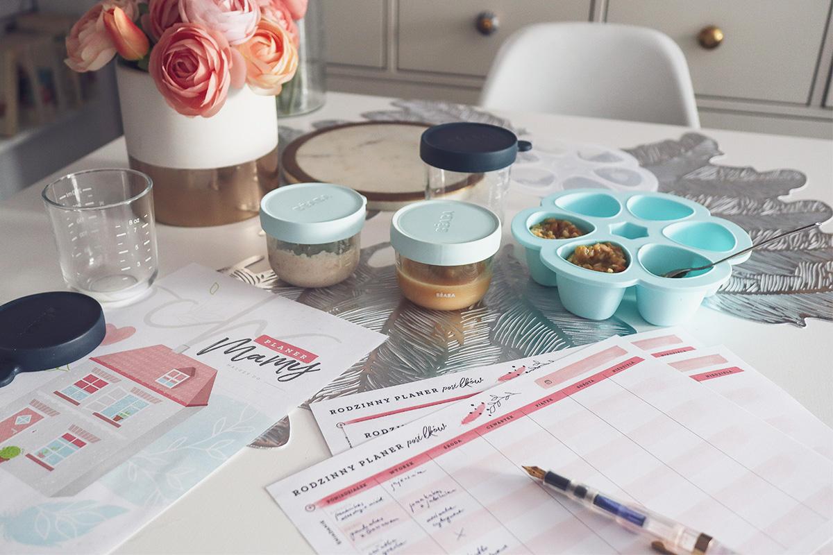 Moja taktyka na planowanie posiłków dla rodziny z niemowlakiem