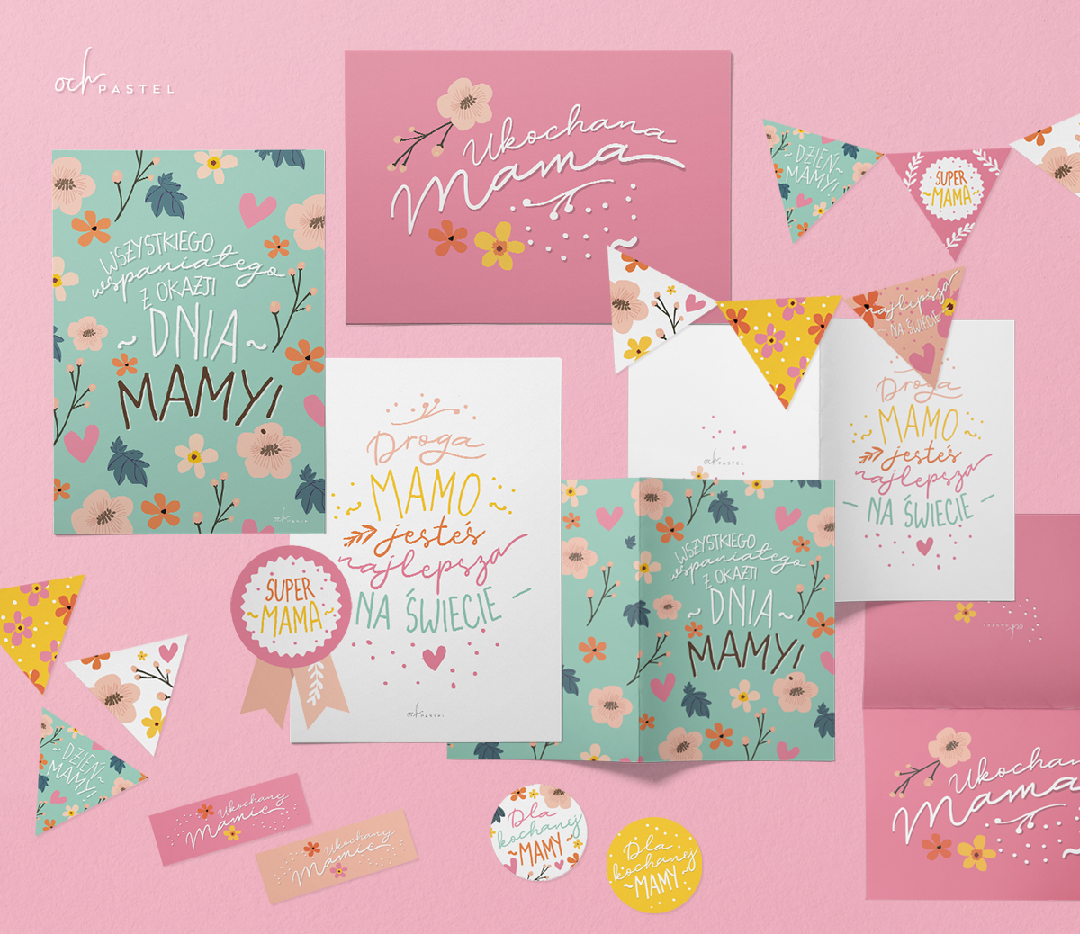 Kartki na dzień Matki do druku