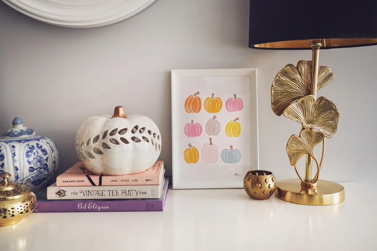 Jesienny lisek – czapeczka do druku dla dzieci